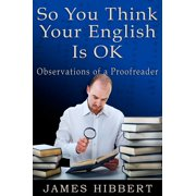 So You Think Your English Is OK - eBook