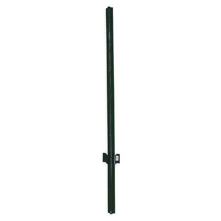 ZORO SELECT 4LVG5 Fence Post, Height 60 In ()