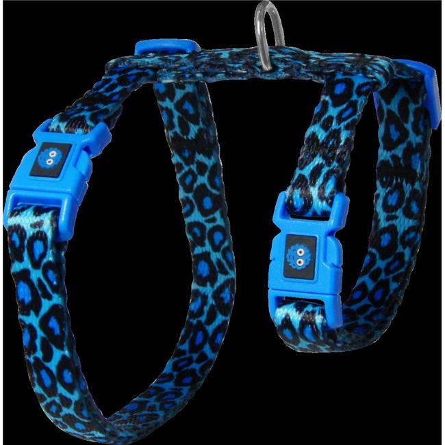 Doco DCAT202 1072-O2 Heat Transfer Design Cat Harness & Leash, Blue - image 1 of 1