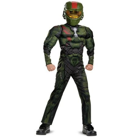 Halo Wars 2: Jerome Classic Muscle Child Costume (Halco Costumes)