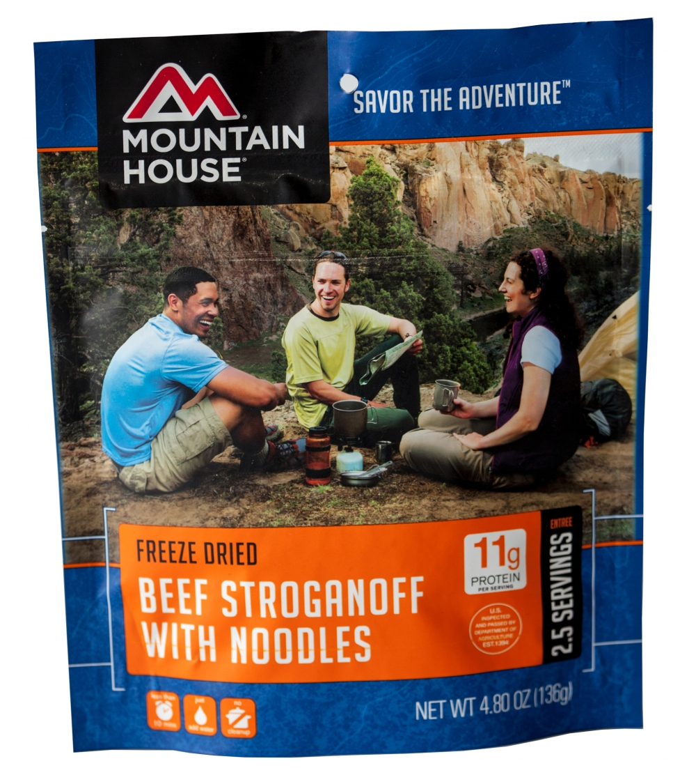 Mountain House (6 Pack) Beef Stroganoff Main Entree Pouch by Mountain House
