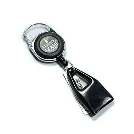 Premium Lighter Leash Retractable Keychain Clip