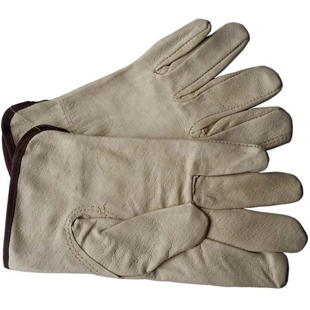 Unlined Pigskin Driver Leather Work Gloves (Sold by Dozen) Size Large Leather Driver Work Gloves