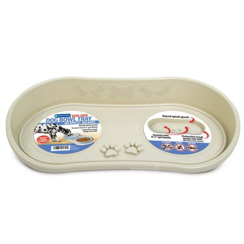 Plastic Dog Bowl Portable Lightweight Feeding Bowl For Pets