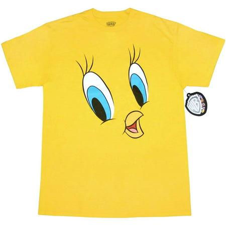 Looney Tunes Tweety Face T-Shirt (Happy Halloween Looney Tunes)