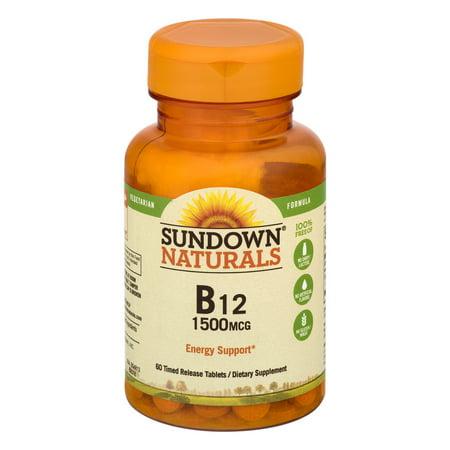 Sundown Naturals B  Mcg Reviews