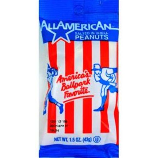 All American Salted In Shell Peanuts Case Of 100