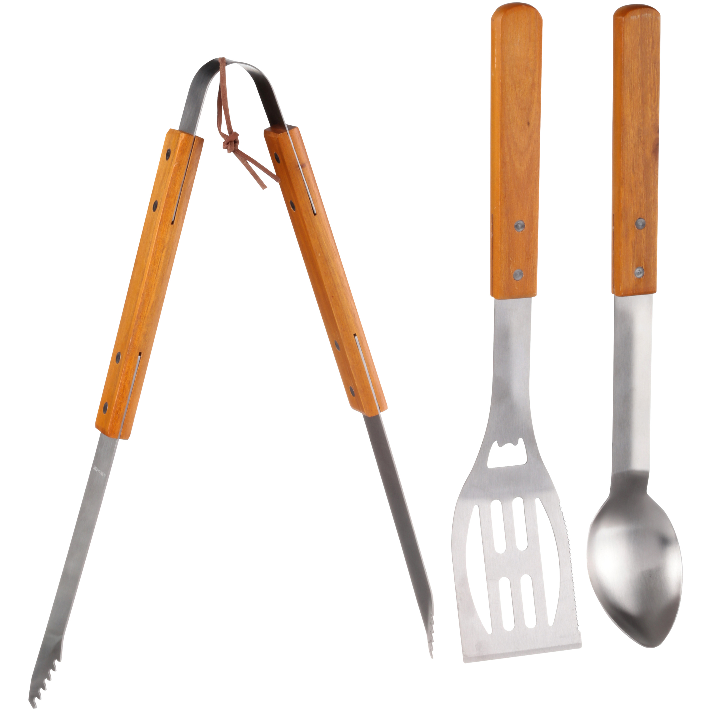 Ozark Trail Outdoor Equipment Cooking Tool Set 3 pc Pack by Wal-Mart Stores, Inc.