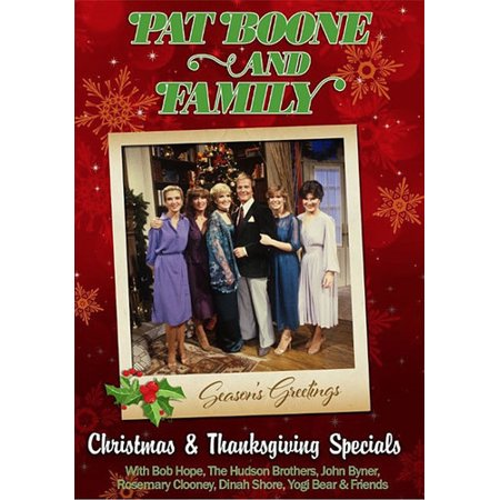 Pat Boone and Family: Christmas & Thanksgiving Specials (DVD) (Peanuts Thanksgiving Special)