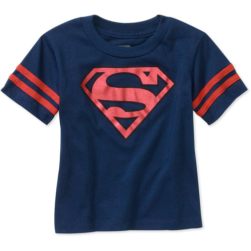 Baby Boys' Superman Shield Graphic Tee