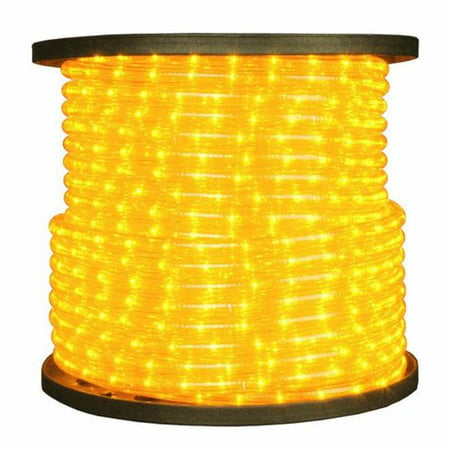 American Lighting Ulrl Led Ye 150 0 5 In 2 Wire 120v Directional Yellow Rope Light