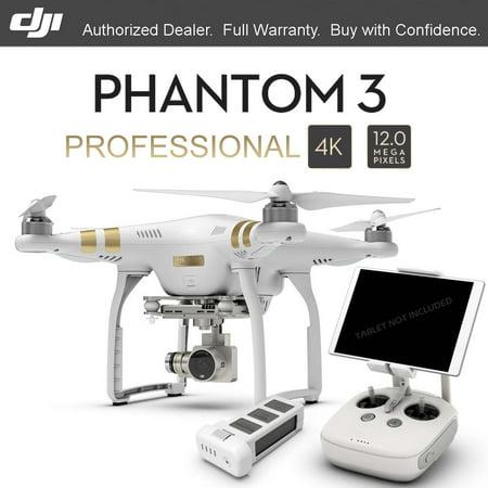 DJI Phantom 3 Professional GPS Drone with 4K HD Camera