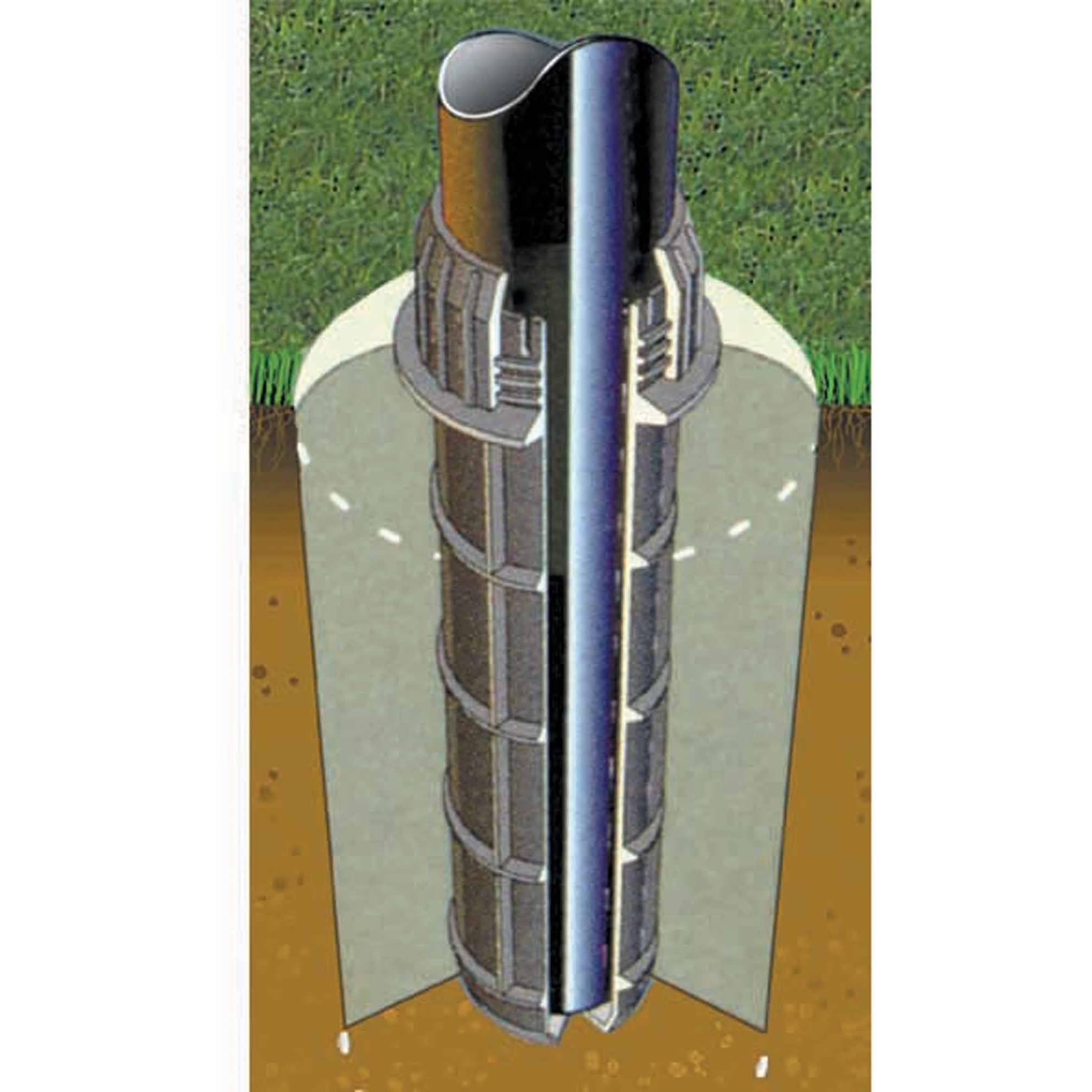 Spalding 8679R Ground Sleeve, Round