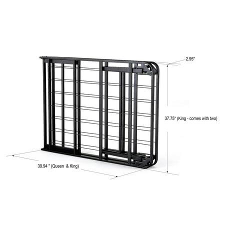 intelliBASE Lightweight Easy Set Up Bi-Fold Platform Metal ...