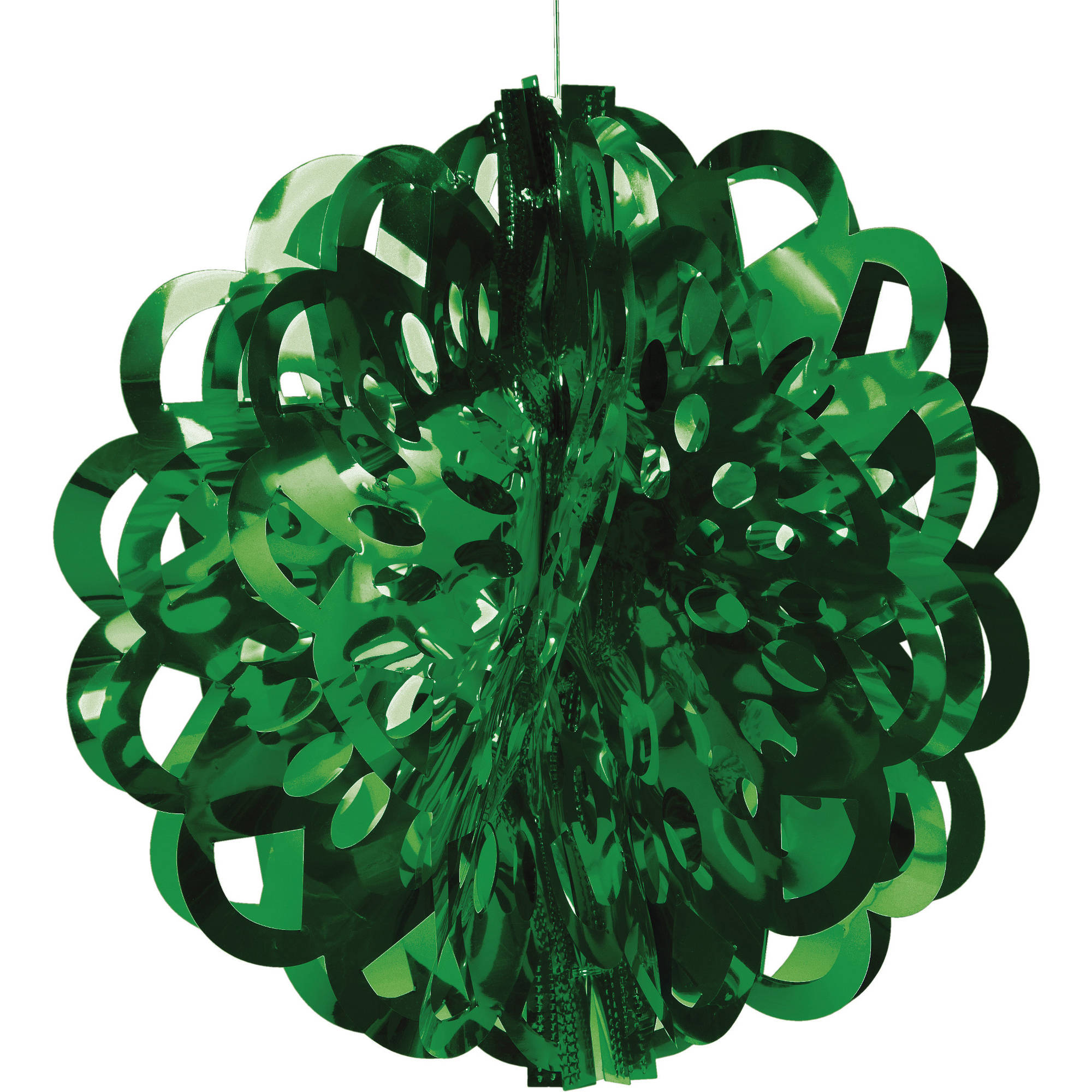 Green Die-Cut Foil Ball