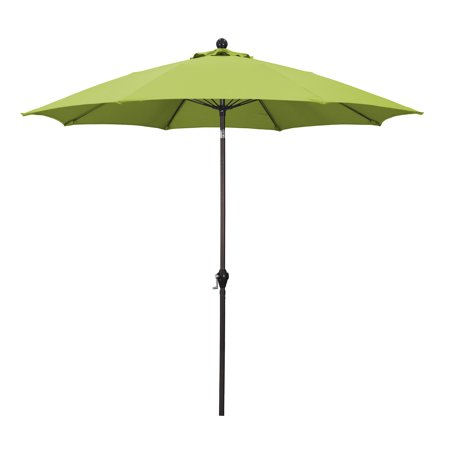 Sunline 9' Market Crank Tilt Polyester Patio Umbrella, Multiple -