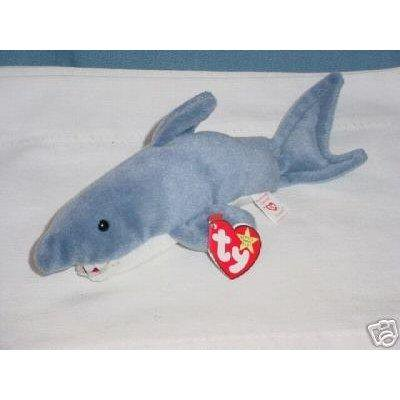 ty beanie baby - crunch the shark