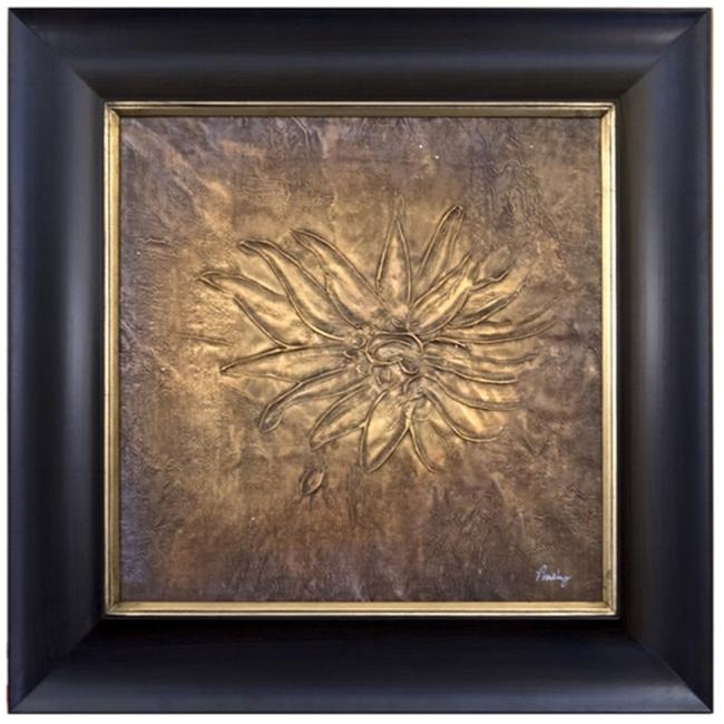 Artmasters Collection JN2007-PW54 Floral Relief III Framed Oil Painting