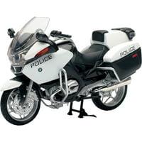 New Ray  DIE-CAST REPLICA BMW R1200 RT-P US POLICE BIKE 43153