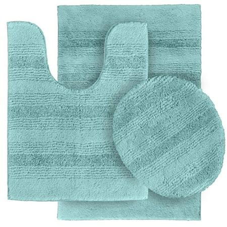 garland rug enc-3pc-06 essence nylon washable bathroom 3