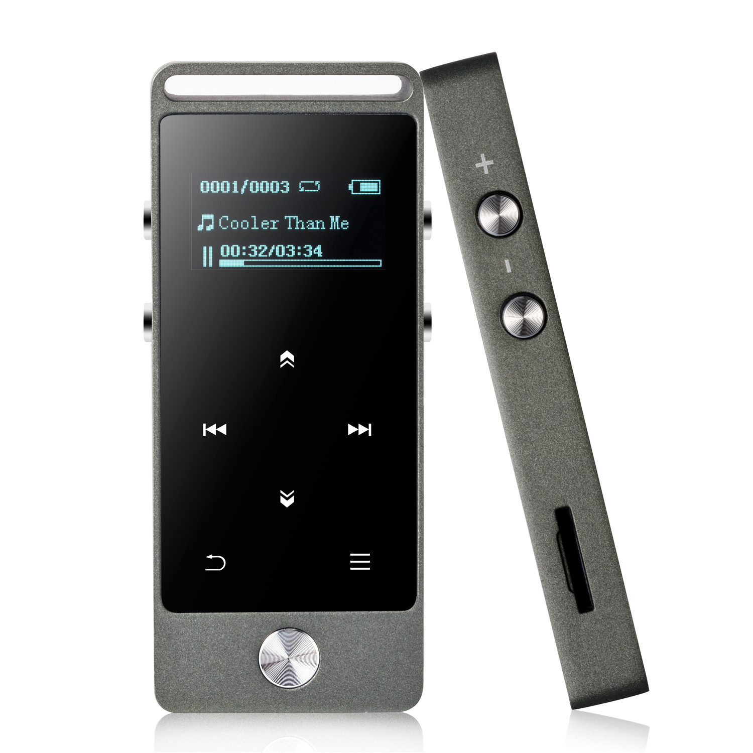 AGPTEK 8GB MP3 Player Lossless Sound Music Player with Independent Lock
