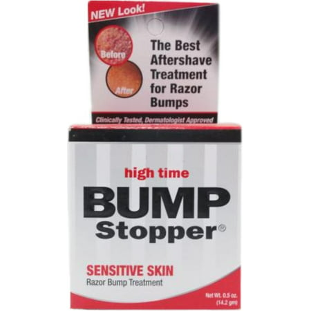 High Time Bump Stopper Sensitive Skin Razor Bump Treatment, 0.5 (Best Ointment For Razor Bumps)