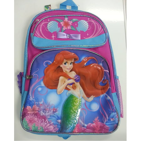 Backpack - Disney - Princess - Little Mermaid Ariel Large School Bag 627669