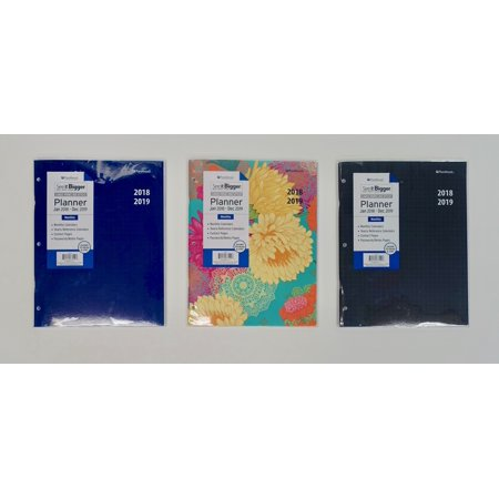 See It Bigger 2 Year Large Monthly Planner 2018 2019 Walmartcom