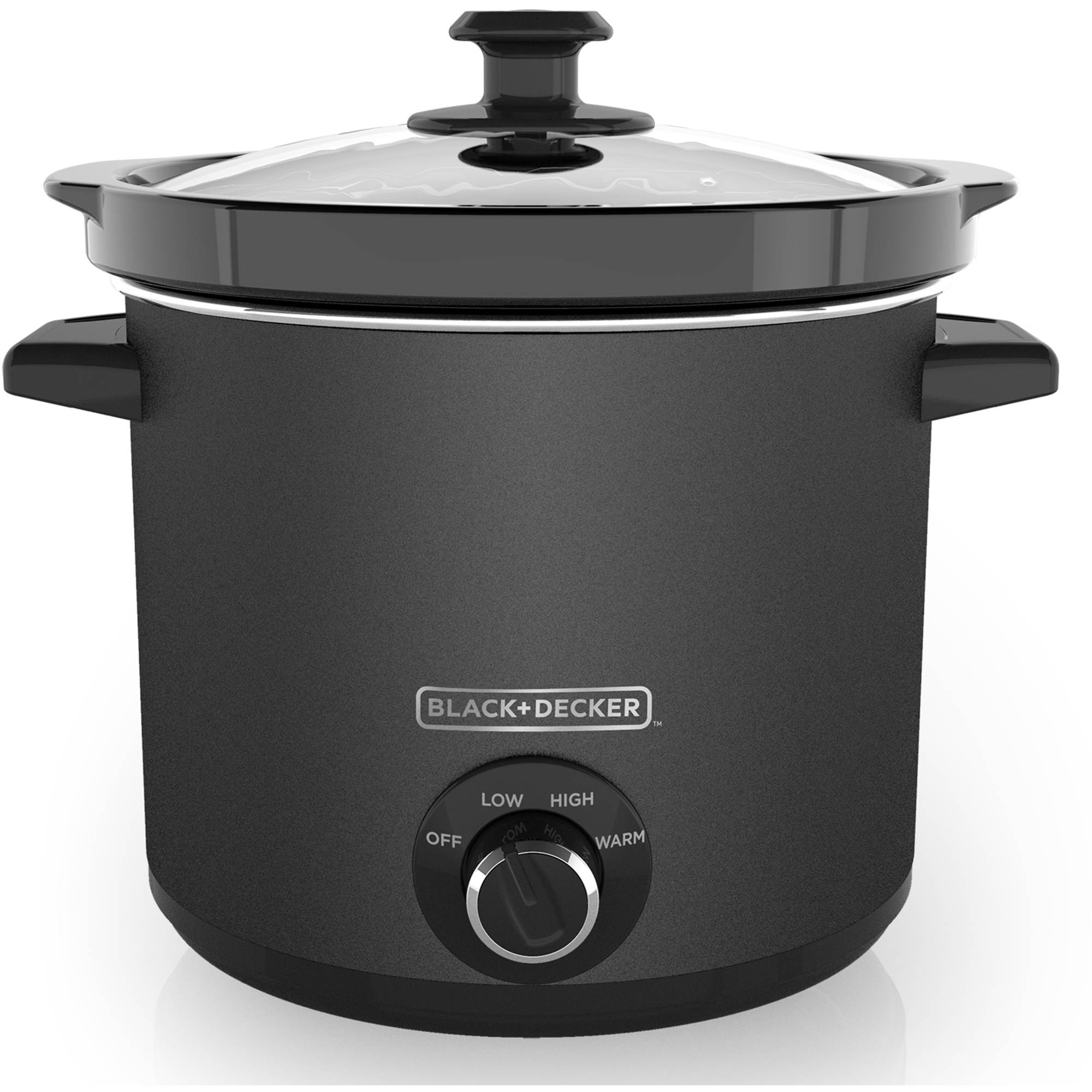 BLACK+DECKER SC4004D 4 Quart Dial Control Slow Cooker with Built in