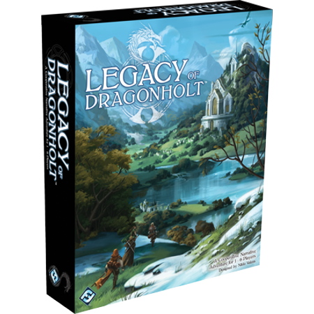 Fantasy Flight Games Legacy of Dragonholt Board Game