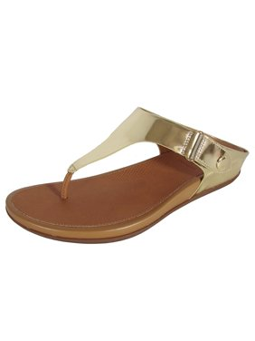 ebbe4f06e Product Image FitFlop Womens Gladdie Toe Post Metallic Sandal Shoes