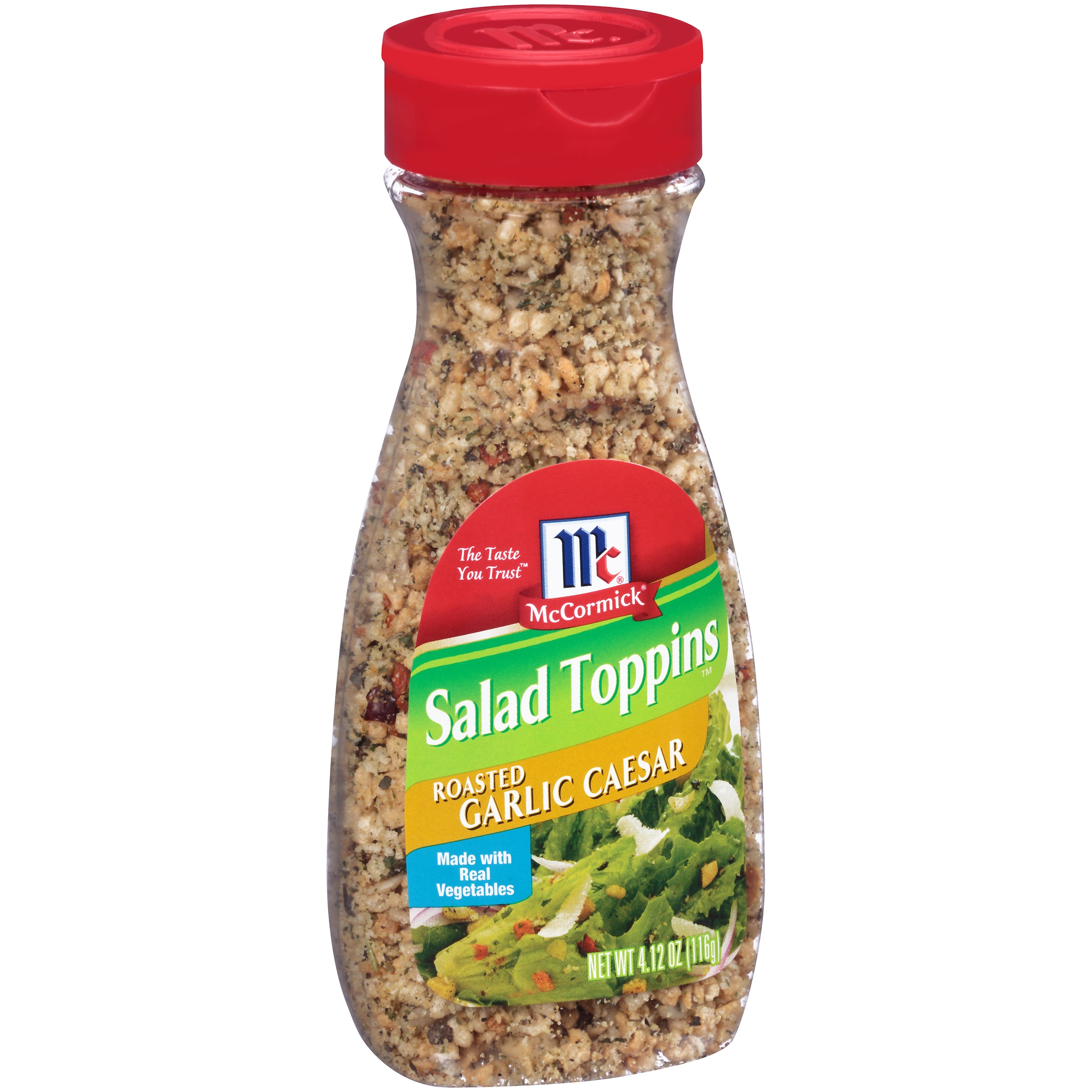 McCormick Salad Toppins Roasted Garlic Caesar, 4.12 OZ