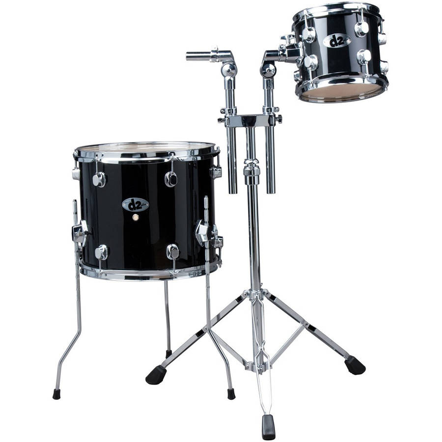"ddrum D2 Add On 8"" and 14"" Toms - Black"