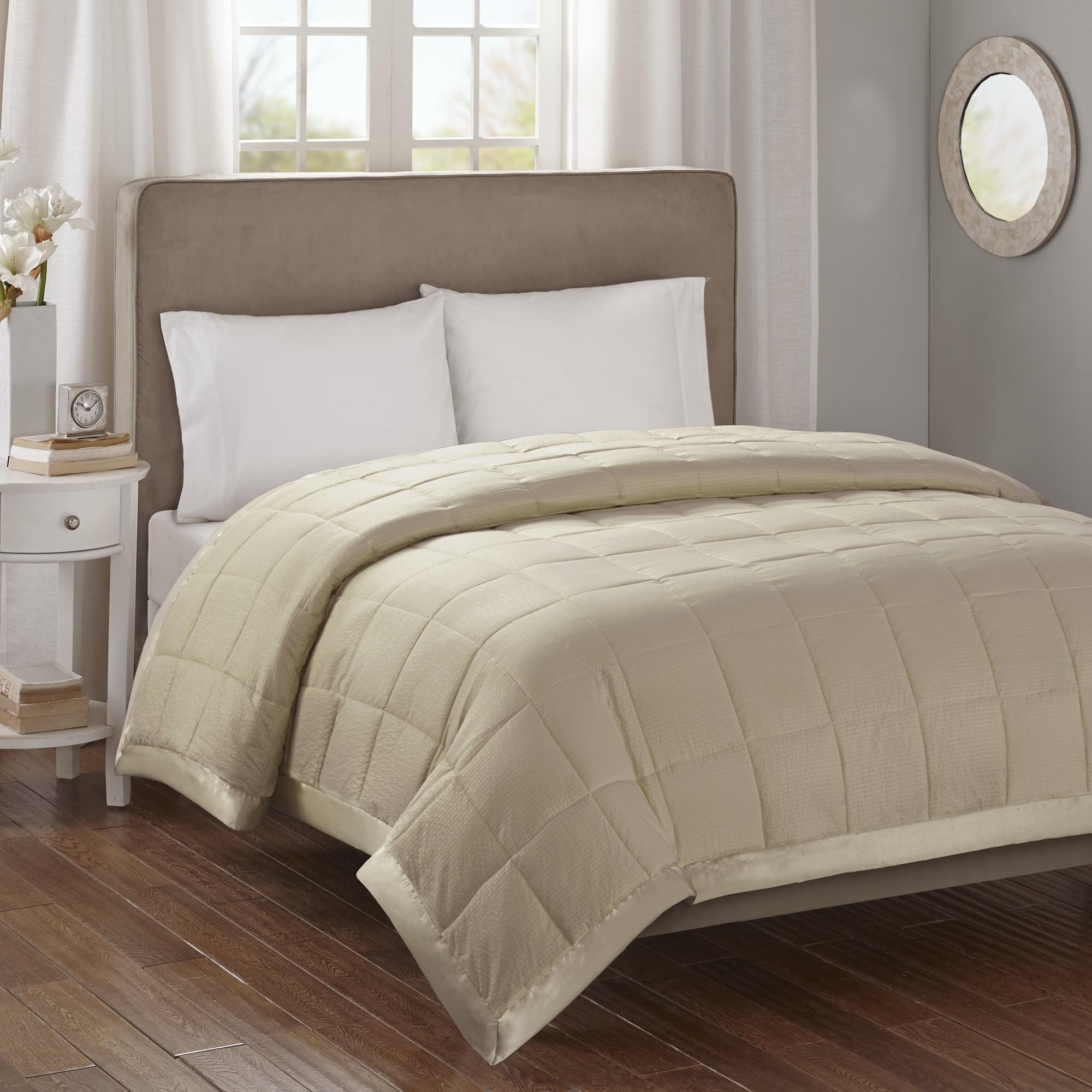 Bed Blanket Parkman Premium Oversized Hypoallergenic Down Alternative with 3M Scotchgard (King) Taupe