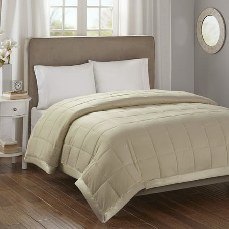 Bed Blanket Parkman Premium Oversized Hypoallergenic Down Alternative with 3M Scotchgard (King) Taupe