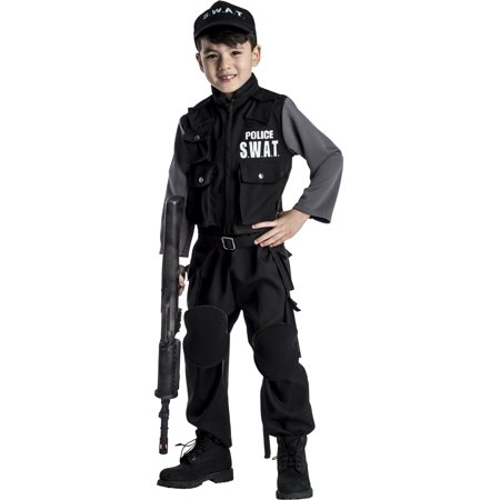 Jr. SWAT Team Costume - Size Large - Girl Swat Team Costume