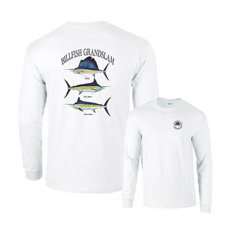 Billfish Grandslam Sailfish Marlin White Marlin Fishing Long Sleeve (Sailfish Marlin)
