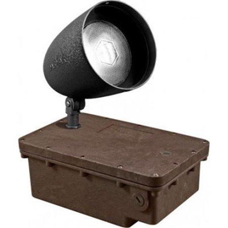 Dabmar Lighting FG-DPR38-B-100MH 120V In-Ground Ballast Box with Black Bullet & PAR38 Lamp