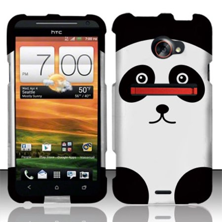 outlet store 4e00c cc4e7 For HTC EVO 4G LTE Rubberized HARD Protector Case Snap On Phone Cover Panda