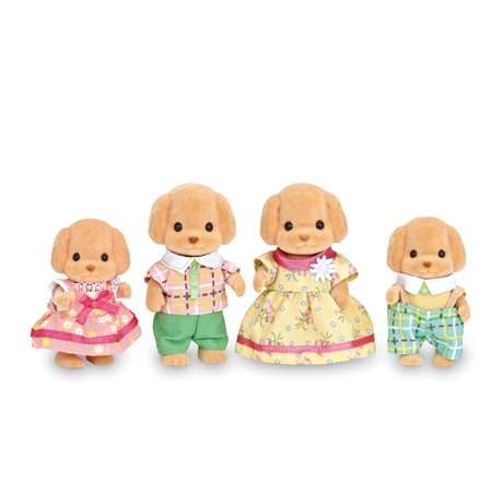 Calico Critters Toy Poodle Family (Toy Teacup Poodles)