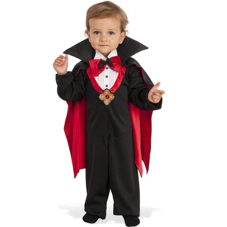 Dapper Count Dracula Infant Toddler Boys Vampire Halloween Costume (Vampire Face Halloween)