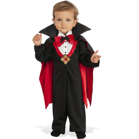 Dapper Count Dracula Infant Toddler Boys Vampire Halloween Costume