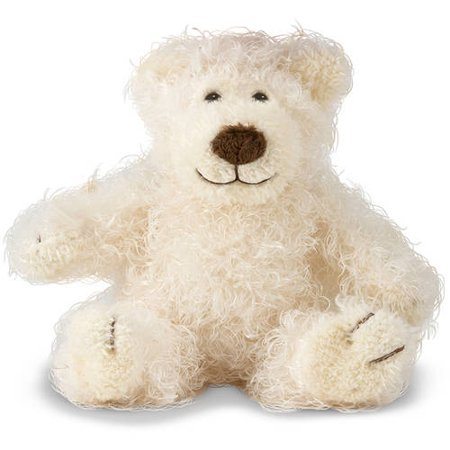 Melissa & Doug Baby Roscoe Bear - Teddy Bear Stuffed Animal - Vanilla