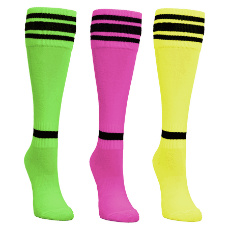 Mitre Neon Socks, Assortment - Long Neon Socks