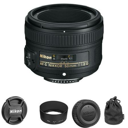 Nikon AF-S NIKKOR 50mm f/1.8G Fixed Focal Length