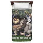 Where The Wild Things Are Wild Rumpus Dance Twin Duvet Cover White 68X88