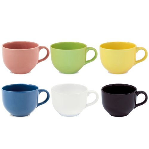 Oxford Porcelain Biona Coffee Mug (Set of 6)