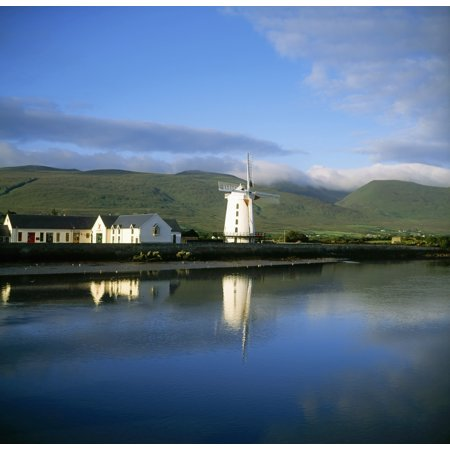 (Blennerville Windmill Blennerville Co Kerry Ireland Tower Mill Built By Sir Rowland Blennerhassett In 1800 Canvas Art - The Irish Image Collection  Design Pics (24 x 24))