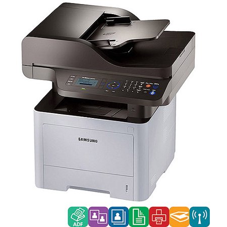 Samsung ProXpress M3870FW Wireless Multifunction Laser Printer, Copy/Fax/Print/Scan