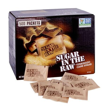 Sugar In The Raw Natural Cane Turbinado Sugar, 500 -